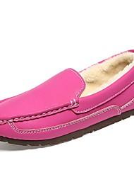 chaussures pour femmes mocassin pantoufles à talons plats avec glissement sur les chaussures plus de couleurs disponibles