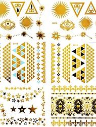#(15) Tatouages Autocollants Séries bijoux MotifHomme Femelle Adulte Adolescent Tatouage Temporaire Tatouages temporaires