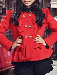 Girl's  Zhongshan University Tong Gaogui Thick Quilted Coat