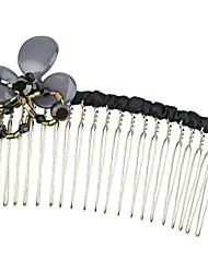 pentes de cabelo da moda de poliéster (mais cores)