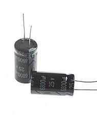 электролитический конденсатор 6800uf 25V (2 шт)