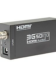 SDI to HDMI Converter SD-SDI HD-SDI 3G-SDI to HDMI Adapter Supports 720p 1080p