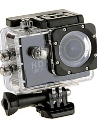 EOSCN W9 Action cam / Sport cam 12MP 1280x960 / 1920 x 1080 Wi-fi / Impermeabile / LCD inclinabile 2 CMOS 32 GB Formato H.264Scatto