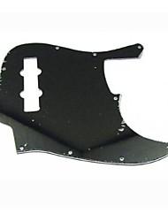 3Ply 10 Hole Black Jazz Bass Pickguard
