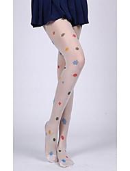 Colorful Clouds Pattern Sweet Lolita Stockings