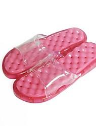 scarpe da donna punta aperta ciabatte di gomma tacco piatto scarpe più colori disponibili
