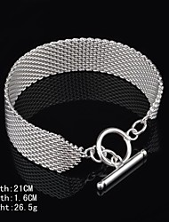 Fashion Sterling Silver Plated Women's Bracelet