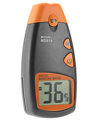 MD814 Digital Handheld Wood Moisture Meter Humidity Tester Wood Cotton Paper with 4Pin