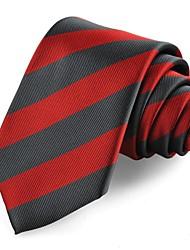 ternos gravata listrada de microfibra gravata dos homens presente formal feriado festa de casamento (5 cores avaliable)