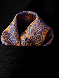 Men Casual Cravat & Ascot,Silk Paisley Spring Summer Fall Winter All Seasons