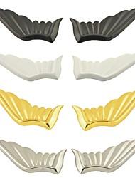 3d ala angolo di decorazione auto forma Adesivi (2 pezzi)