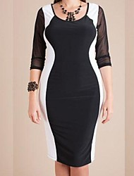 Women's Fashion Plus Size Clubwear Sexy Big Size Party Dress