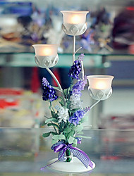 Provence Lavender Romantic Candle Holder