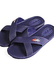 Men's Shoes Casual PVC Slippers Purple/Gray