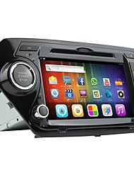 rungrace android 8 polegadas tela TFT de 2 din no painel do carro dvd player para kia k2 com bluetooth, gps, RDS, wifi, ipod, DVB-T