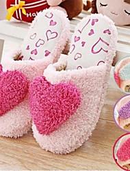 сладким теплым большая любовь сердце женские слайд тапочки