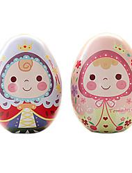 le prince et le motif de princesse bricolage de Pâques peints coquille, fer blanc