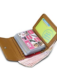 ZORDANY® Unisex's Leather Credit Card Holder/Case card and Business Card Package