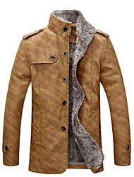 Big Fashion Men's Fashion Stand Collar Cotton Jacket
