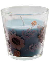 Light Blue Ocean Wood flower Romantic Fragrance Candle