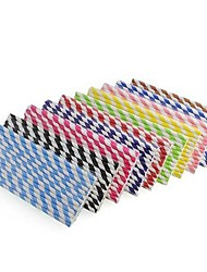Wedding Décor Stripe Straw for  Party Supplies(25PCS/Package)