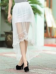 moda femminile maglia gonne di colore solido