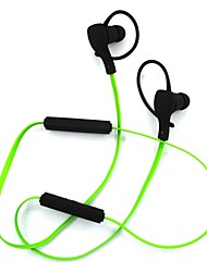 le bruit du sport annulant avec micro-in-ear casque bluetooth sans fil pour iphone samsung