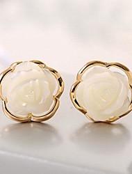 neue Produkte Legierung Shell Mode Ohrringe