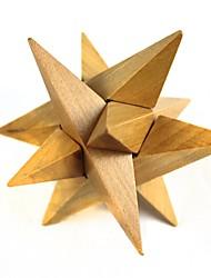 madeira afiado brinquedos de desbloqueio (1 pcs)