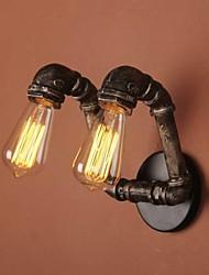 Loft amercian tuyau d'eau industrielle lampe de mur dans le style traditionnel
