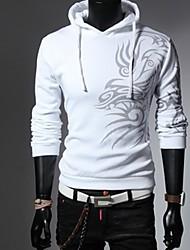 Big Fashion Men's Fashion Dragon Pattern Hoodie Sweater