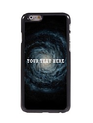 Personalized Phone Case - Vortex Design Metal Case for iPhone 6