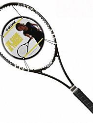 Черный углеродного волокна профессиональной игры в теннис ракетки импульса, 98б