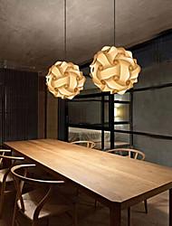 maishang® bola pingente moderno lâmpada diy QI 25 centímetros