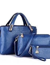 DHL  ® 2014 new crocodile three piece suit Handbag Shoulder Bag Messenger Bag Handbag parent subsidiary bag  XX-804
