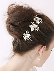 Women's Alloy Headpiece-Wedding Special Occasion Hair Pin