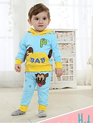 Children's Set Spring and Autumn Long Sleeve Tshirt and Pants Baby Set Two Pieces Sets