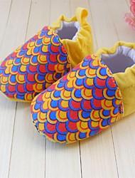 kinderschoenen ronde neus platte hak loafers met slip-on schoenen