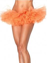 burlesque jupe club de danse de fête d'Orange tulle tutu bouffantes femmes