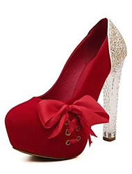 Women's Shoes Round Toe Platform Chunky Heel Pumps Shoes More Colors available