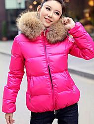 De TYT damesmode ongedwongen warme katoenen jas