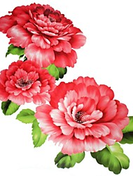 1 Pcs Waterproof Big Peony Backing Pattern  Tattoo Stickers