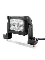 dy-sc8018 18w 1530lm 6000K 6-CREE LED weißes Licht Flutstrahl Geländelampe (10-30 V DC, schwarz)