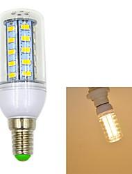 5W E14 Ampoules Maïs LED T 36 SMD 5730 550 lm Blanc Chaud AC 100-240 V