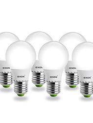 Lampadine globo SMD IENON® A E26/E27 5 W 400-450 LM 6000 K Luce fredda AC 100-240 V