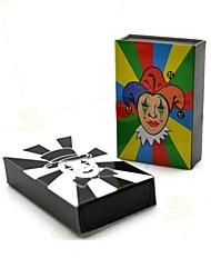 scatola magica - pagliaccio scatola di fiammiferi