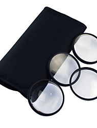 77mm Makro-Filter Set mit PU-Ledertasche (+1, +2, +3, +4)