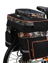 trois dans une des sacoches de vélo plateau de l'ouest Selle livraison équipements housse de pluie sac de vélo sacoche porte-bagage arrière