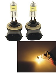Carking™KOBO 881 12V 100W 3000K 550LM Yellow Light Car Halogen Headlight(2 CPS)