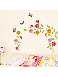 Wall Stickers Wall Decals, Style Flying Butterfly PVC Wall Stickers